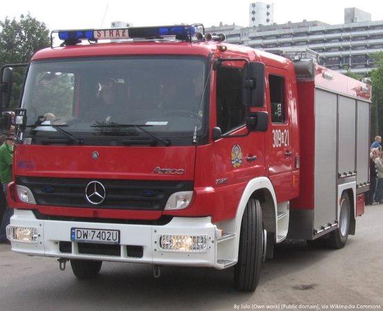 KMPSP Bydgoszcz:  Szkolenie Podstawowe Strażaków Ratowników OSP